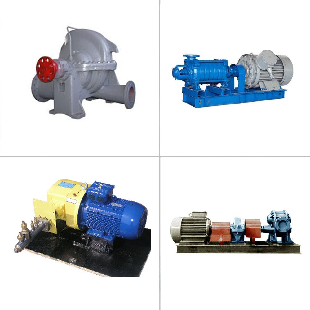 Equipment for Air Compression, Pumps and Pump Units